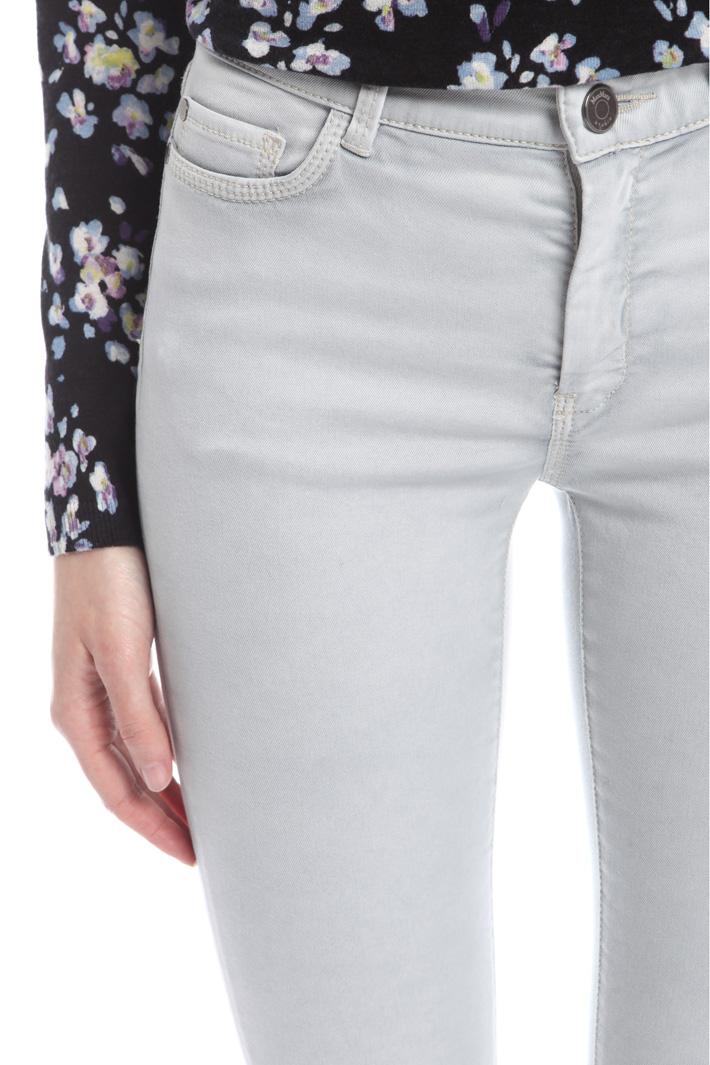 Pantaloni in drill di cotone Fashion Market