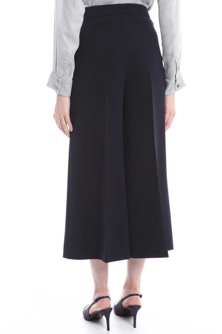 Pantaloni ampi in cady Fashion Market