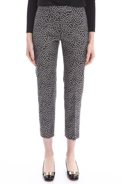 Pantaloni cropped jacquard Fashion Market
