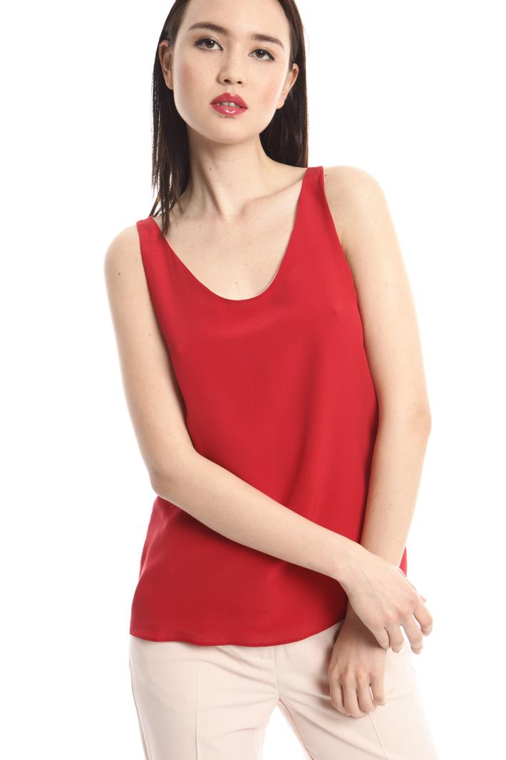 Top in crepe doppio Fashion Market
