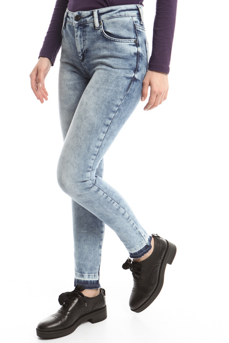 Jeans skinny in denim Fashion Market