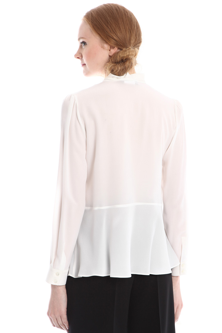 Blusa in seta lavata Fashion Market