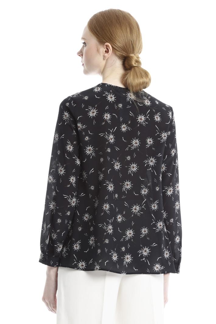 Casacca stampata in pura seta Fashion Market