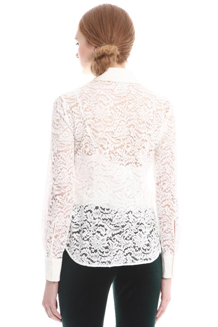 Camicia in pizzo con top Fashion Market