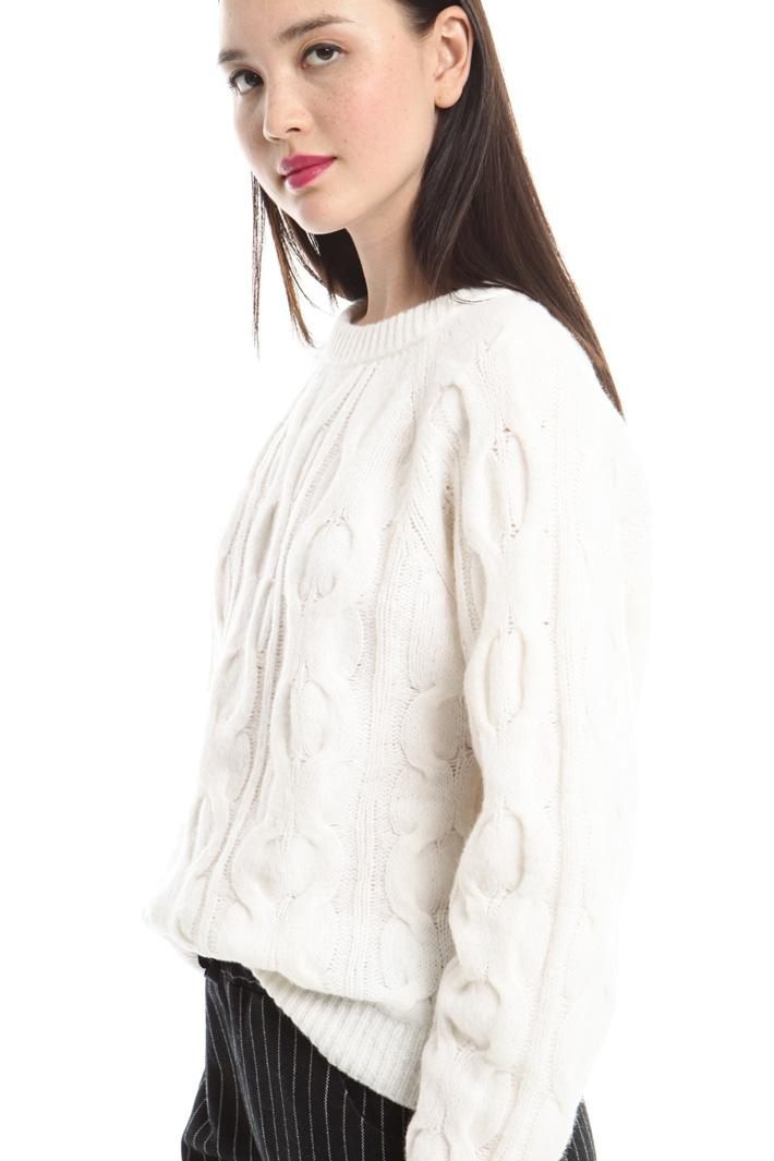 Maglia con lavorazione trecce Fashion Market