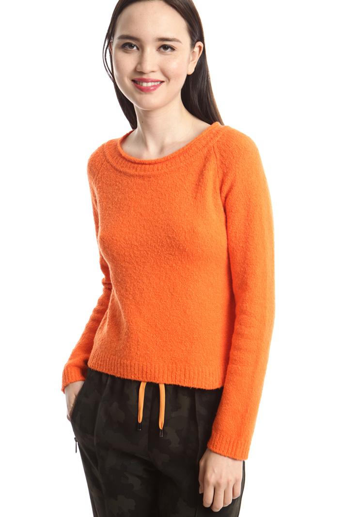 Maglia boxy in cotone stretch Fashion Market
