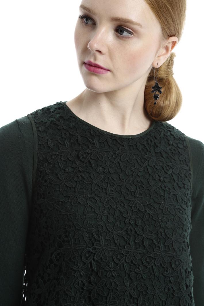 Maglia e top in macramé Fashion Market
