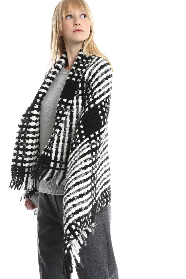 Maxi sciarpa in misto lana Fashion Market