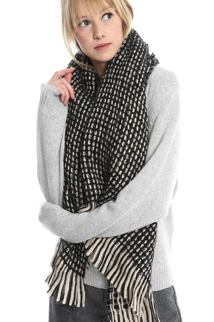 Sciarpa in lana intrecciata Fashion Market