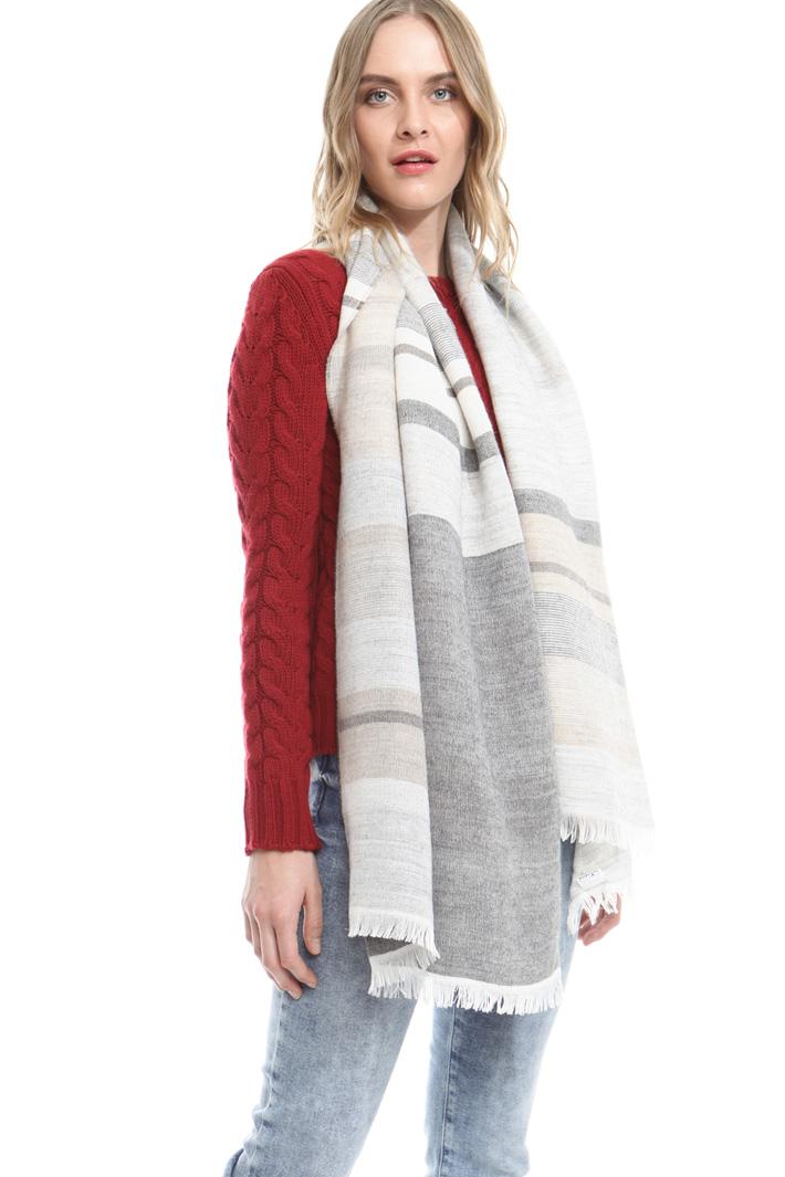 Sciarpa in modal e lana Fashion Market