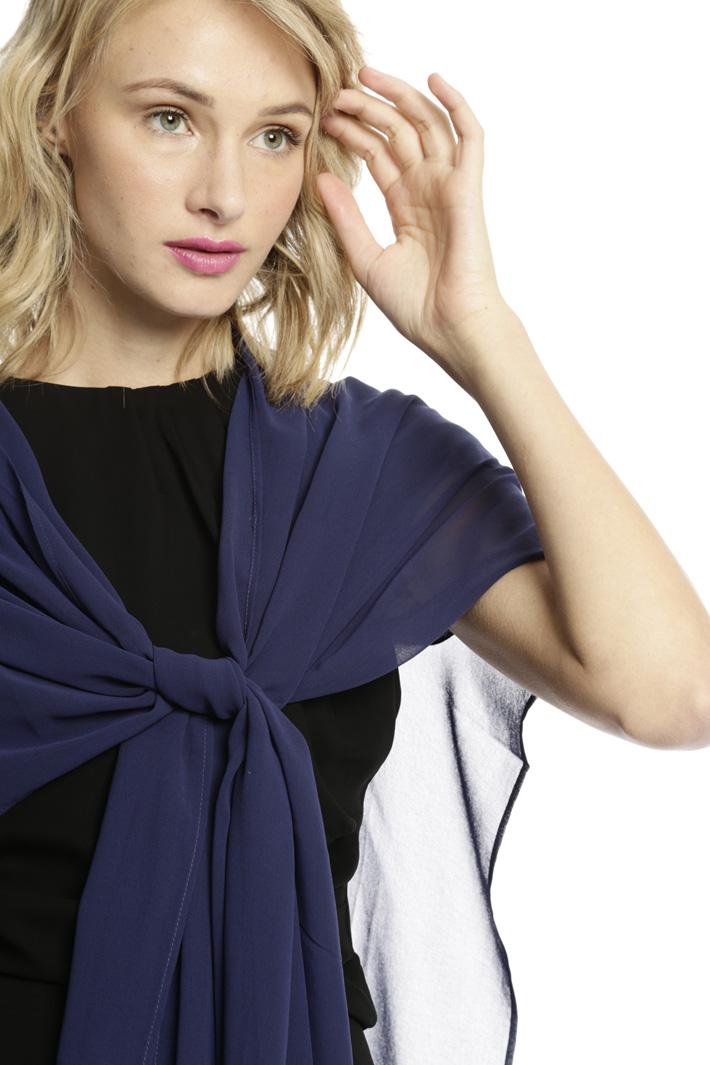 Cappa in georgette Fashion Market