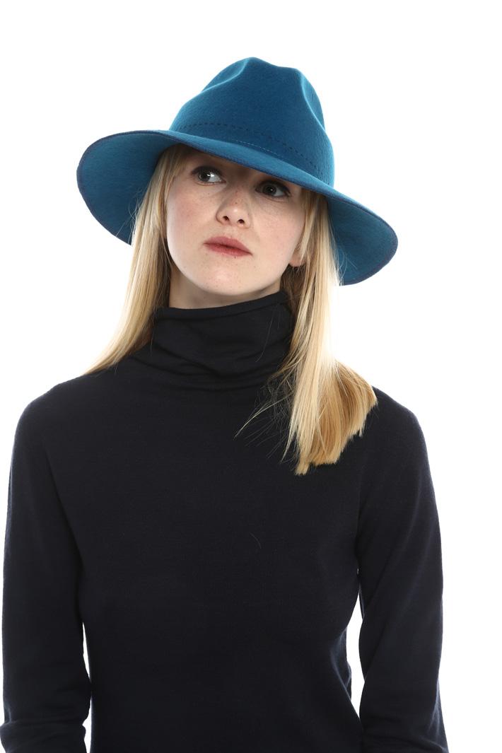 Fedora in feltro di lana Fashion Market