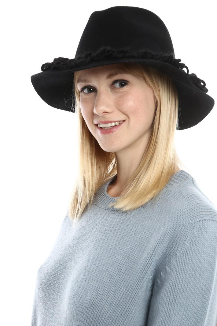 Fedora con maxi frangia Fashion Market
