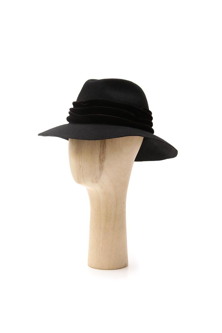 Fedora con fascia in ciniglia Fashion Market