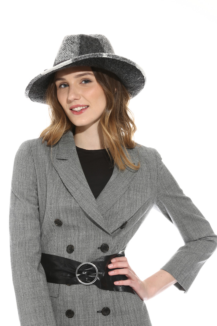 Fedora disegno check Fashion Market