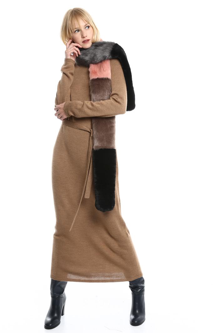 Sciarpa effetto pelliccia Fashion Market