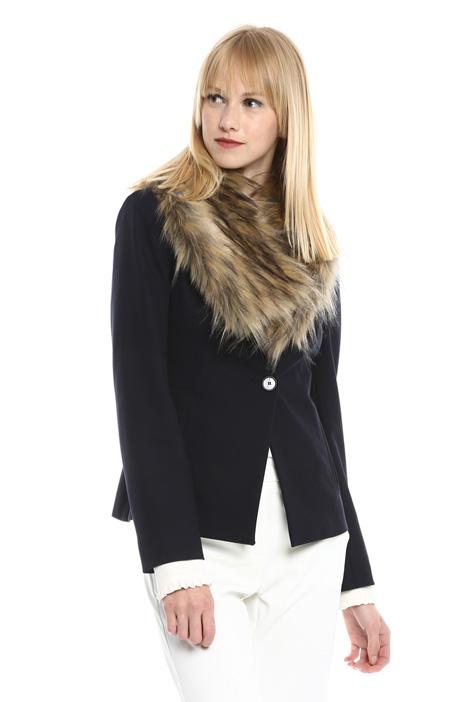 Collo in pelliccia sintetica Fashion Market