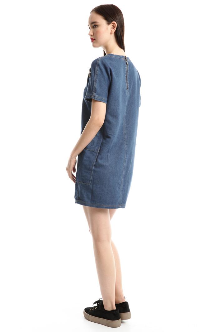 Miniabito effetto denim Fashion Market