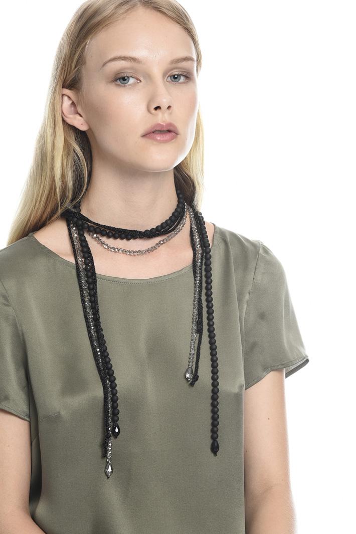Collana con perline Fashion Market