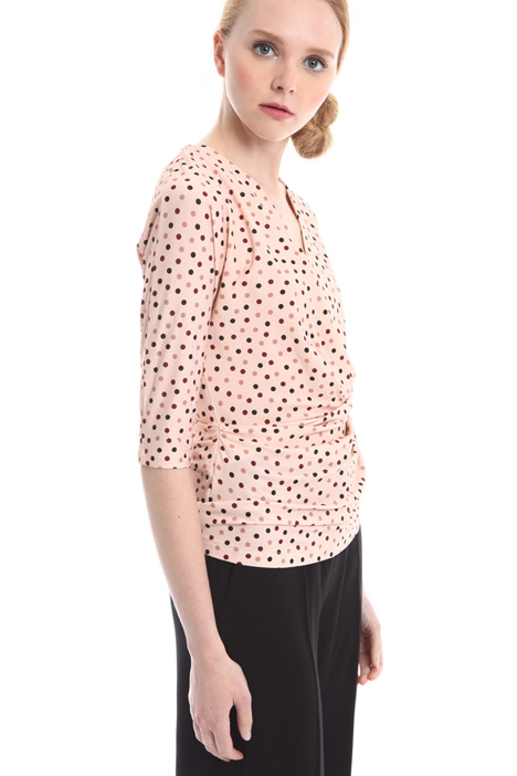 Top in jersey a pois Fashion Market