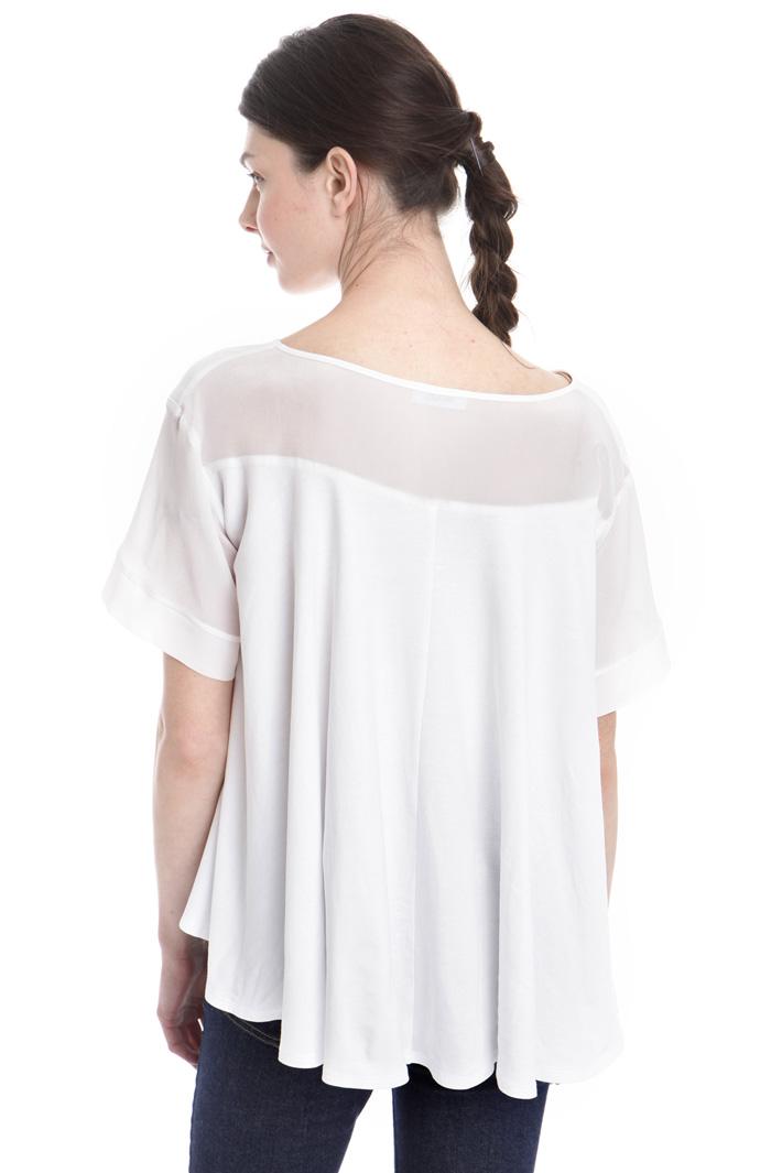 T-shirt con fondo svasato Fashion Market