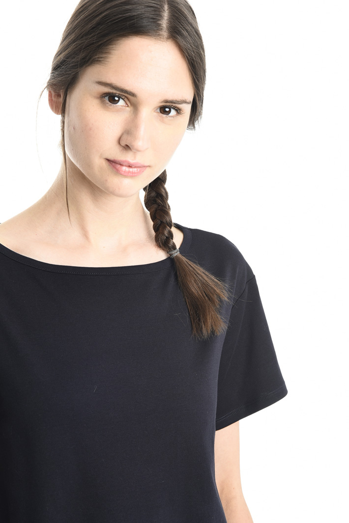Top boxy in jersey interlock Fashion Market