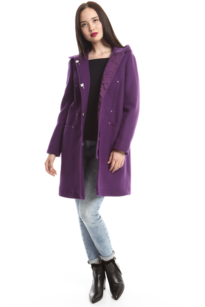 Cappotto montgomery in lana Fashion Market