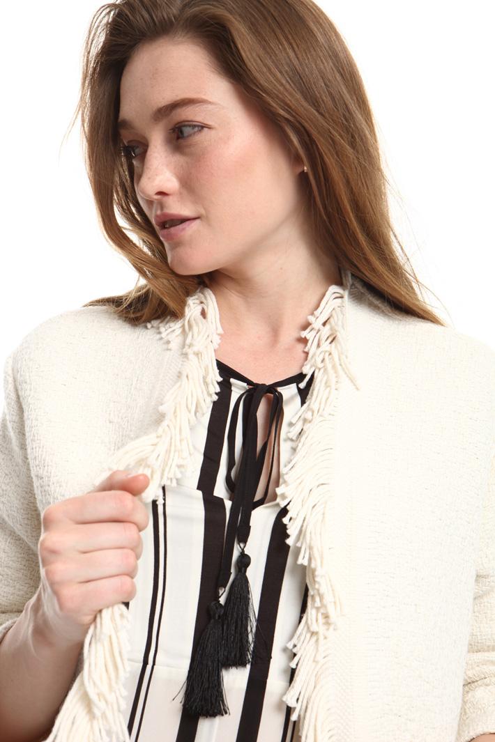 Giacca in stuoia di cotone Fashion Market