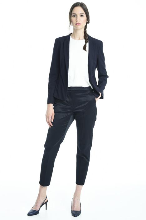 Blazer semiaderente in crepe Fashion Market