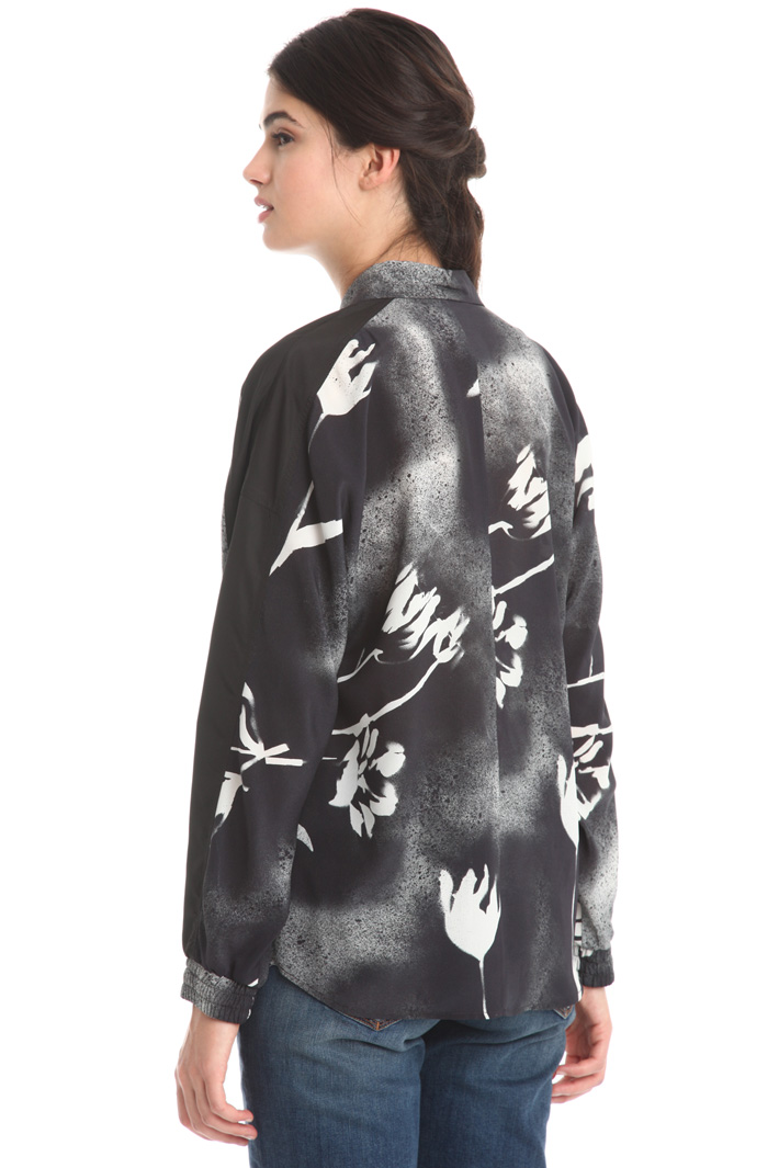 Camicia in crepe stampata Fashion Market