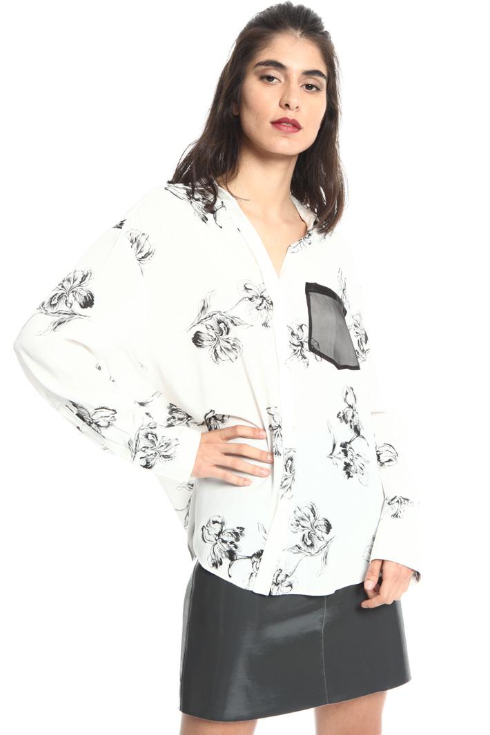 Camicia morbida in viscosa Fashion Market