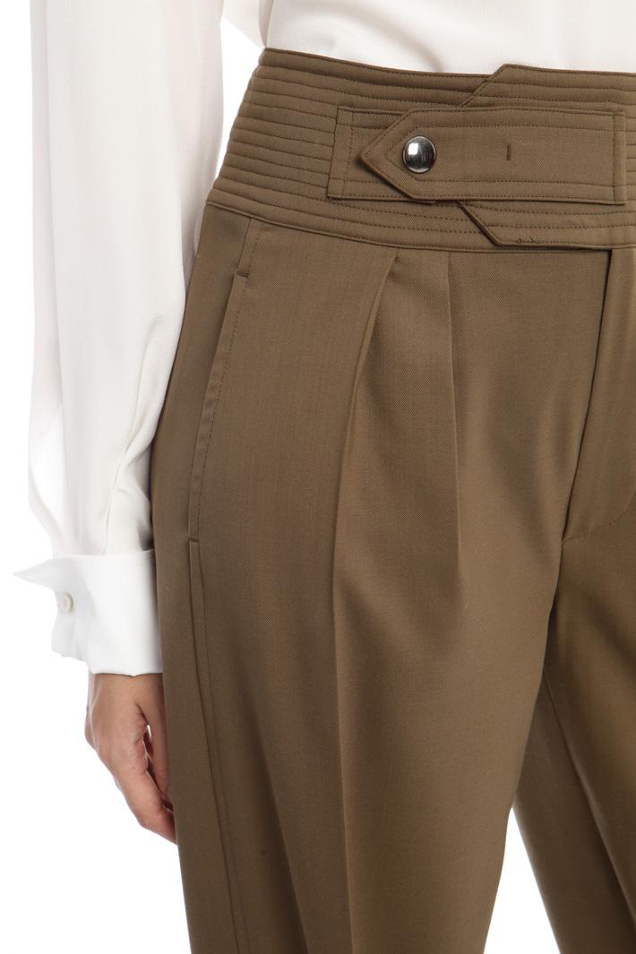 Pantaloni in lana leggera Fashion Market