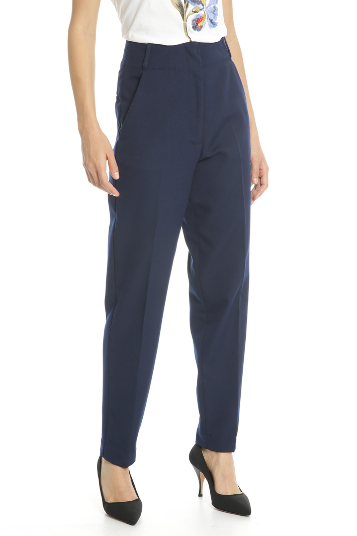 Pantalone lungo in viscosa Fashion Market