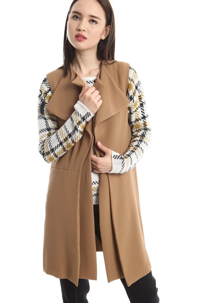 Gilet con doppio revers Fashion Market