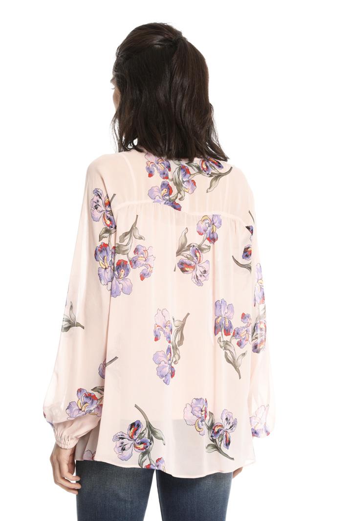 Twin set in viscosa e maglia Fashion Market