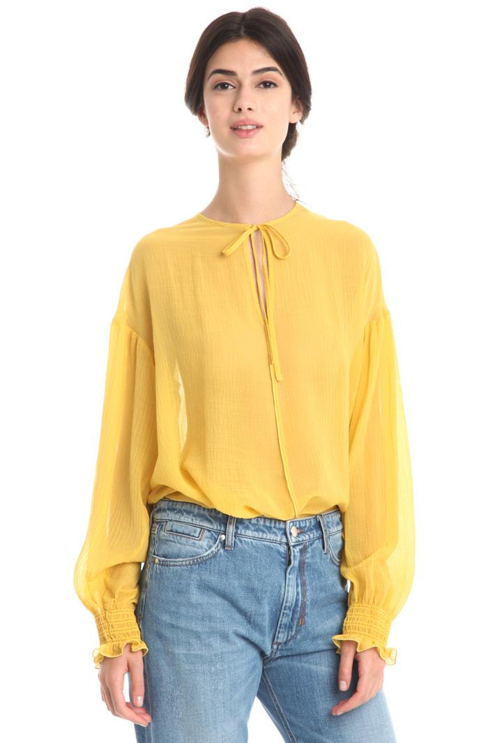Blusa over in crespo Fashion Market