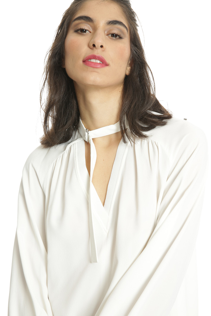 Casacca in filato misto seta Fashion Market