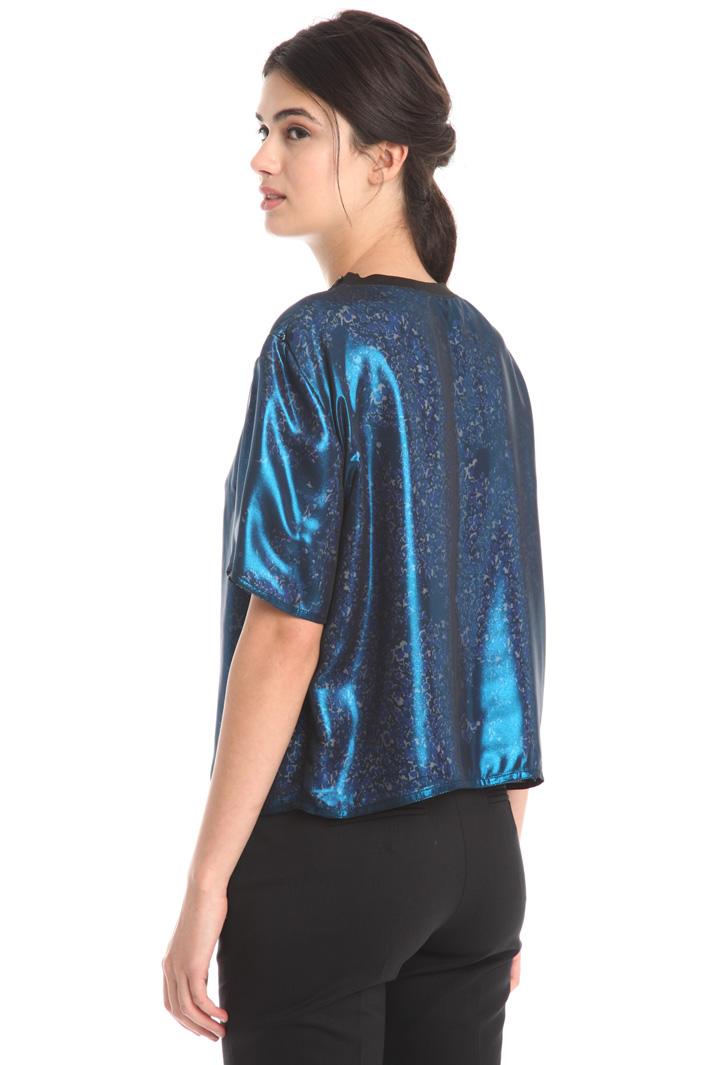 Top in chiffon laminato Fashion Market