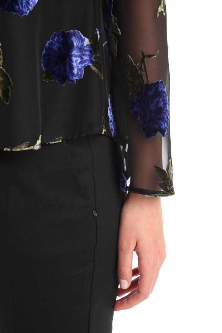Casacca in doppia georgette Fashion Market