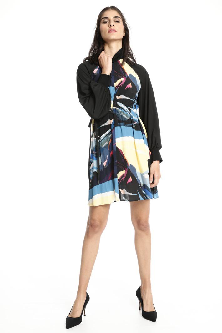 Abito corto in viscosa Fashion Market
