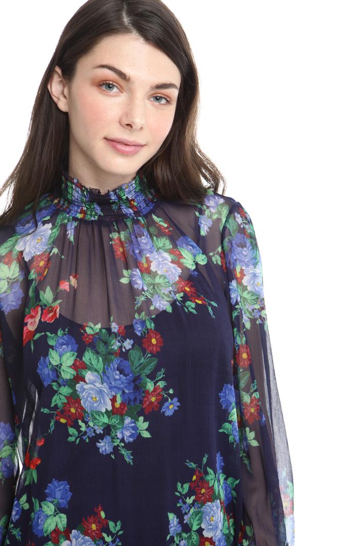 Abito a fiori in creponne Fashion Market