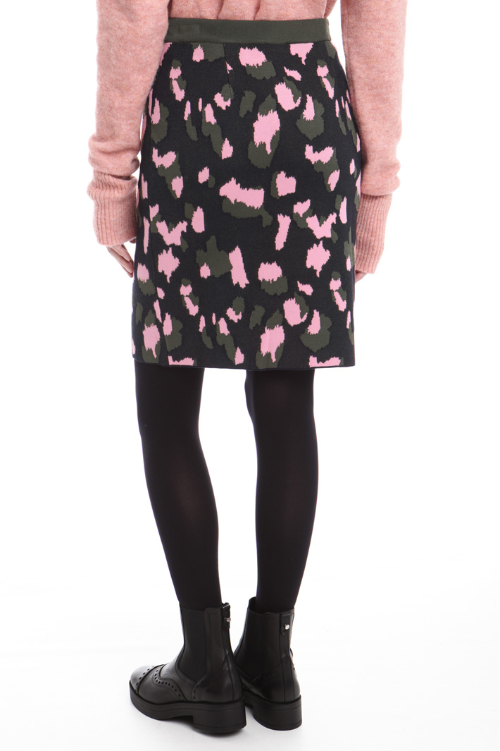 Gonna in maglia jacquard Fashion Market