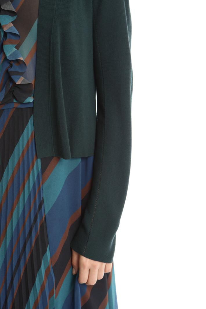 Cardigan traforato in viscosa Fashion Market
