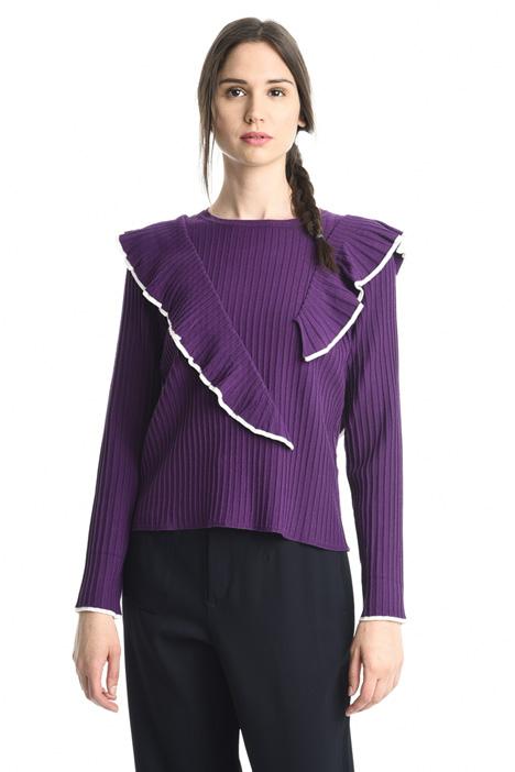 Maglia con rouches Fashion Market