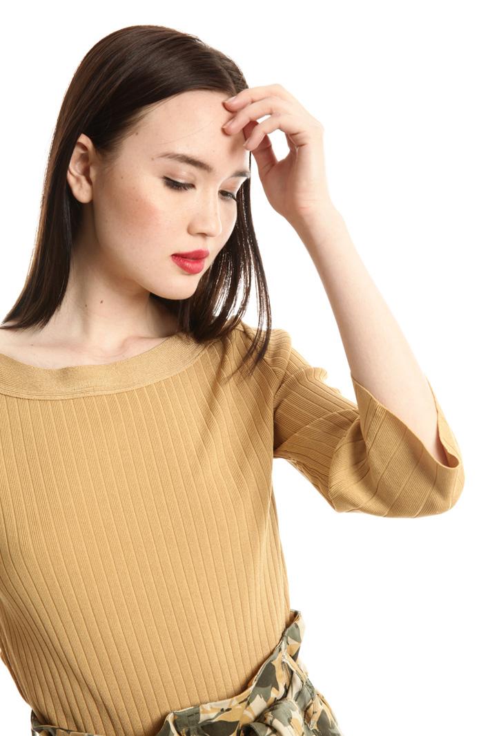 Maglia in viscosa a coste Fashion Market