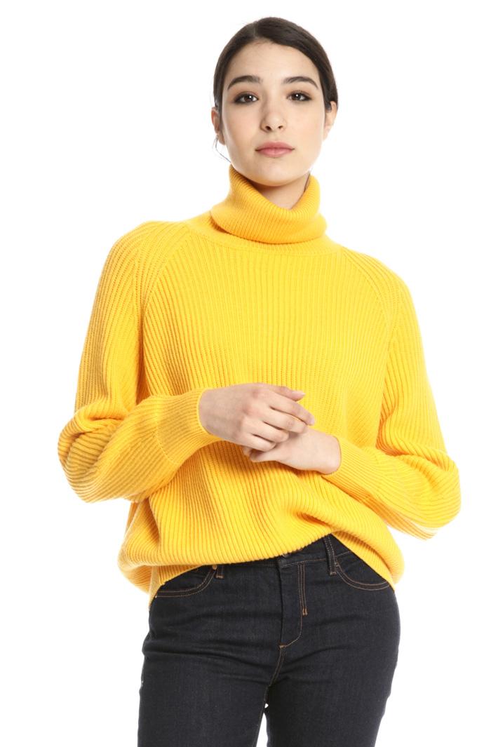 Maglia dolcevita in pura lana Fashion Market