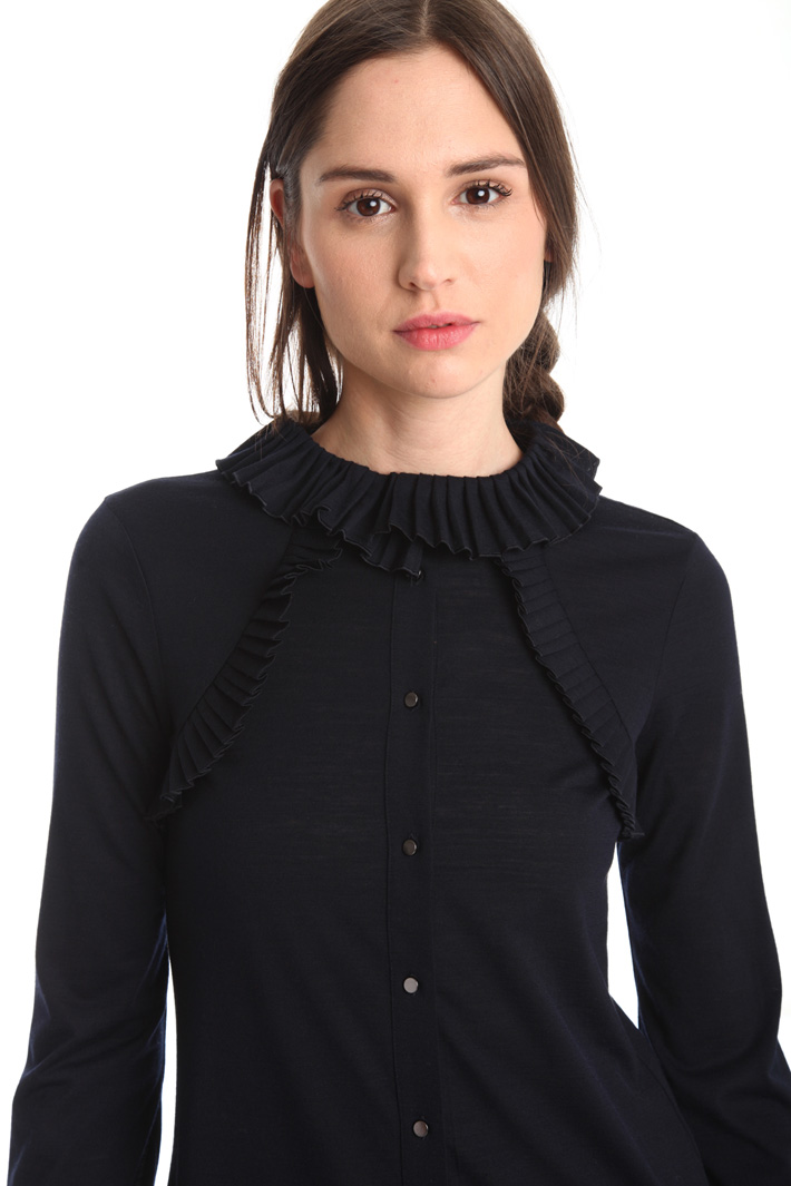 T-shirt in jersey di lana Fashion Market
