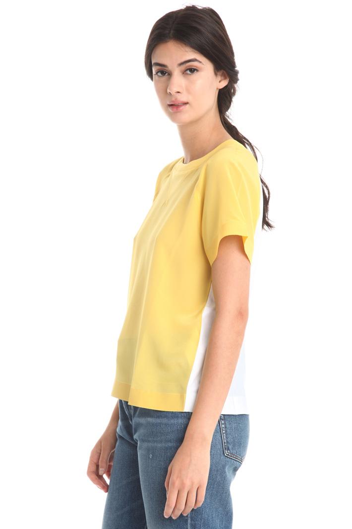 T-shirt in doppio tessuto Fashion Market