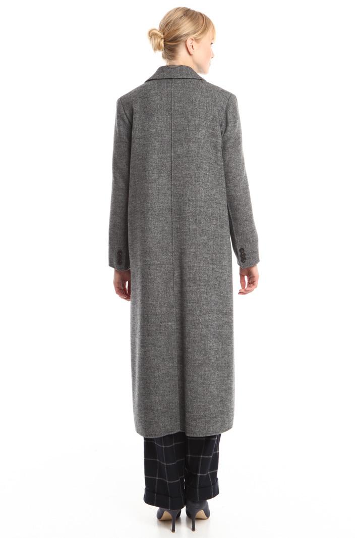 Cappotto lungo in lana Fashion Market