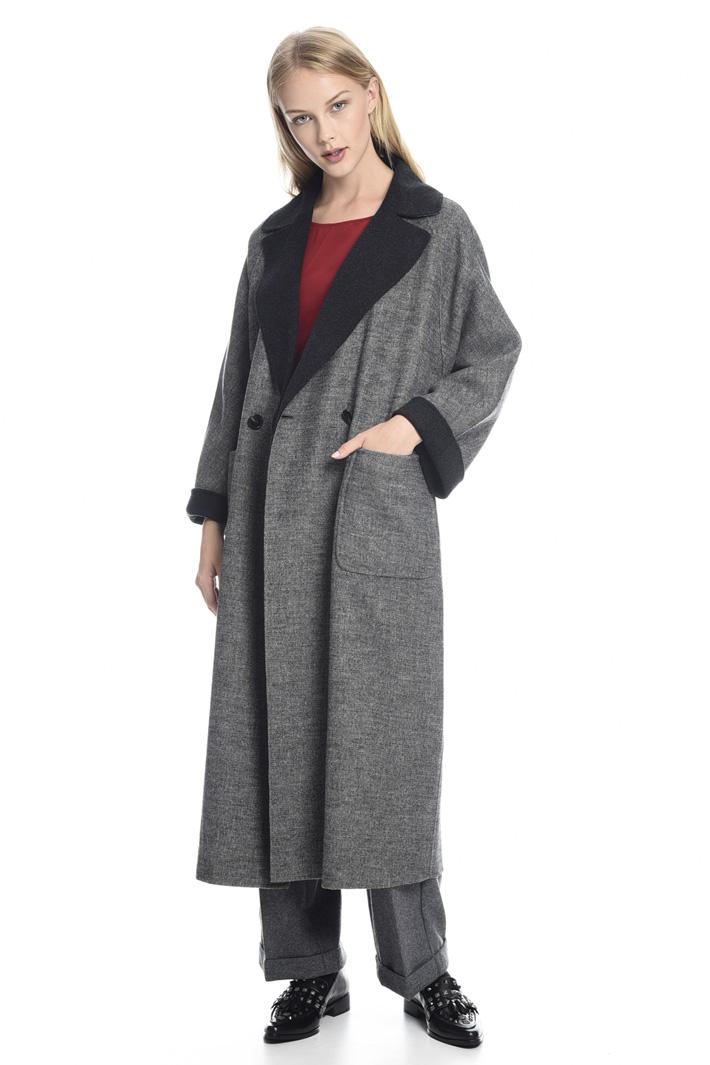 Cappotto double-face in lana Fashion Market